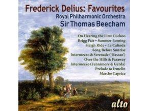 SIR THOMAS BEECHAM / ROYAL PHILHARMONIC ORCHESTRA - Frederick Delius: 11 Favourites (CD)