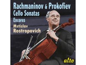 MSTISLAV ROSTOPOWITSCH / SVIATOSLAV RICHTER - Rachmaninoff / Prokofieff: Cello Sonaten & Encores (CD)