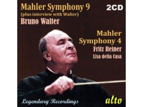 GUSTAV MAHLER / BRUNO WALTER - Gustav Mahler - Symphony No. 9 / Symphony No. 4 (CD)