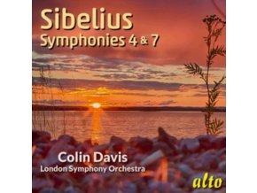 COLIN DAVIS - Sibelius: Symphonies 4&7 (CD)