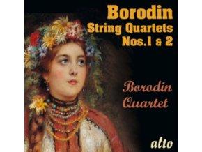 BORODIN QUARTET - Alexander Borodin String Quartets Nos.1 & No.2 (CD)