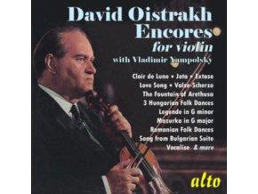 DAVID OISTRAKH / VARIOUS ARTISTS - David Oistrakh: Encores - Werke Von Debussy. Ysayw. Prokofieff U.A. (CD)