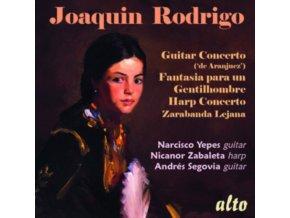 NARCISO YEPES / NICANOR ZABALETA / ANDRES SEGOVIA - Rodrigo: Guitar Concerto (de Aranjuez) / Fantasia Para Un Gentilhomb (CD)