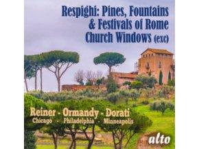 CHICAGO SYMPHONY ORCHESTRA / PHILADEPHIA ORCHESTRA - Respighi: Pini Di Roma / Fontane Di Roma U.A. (CD)