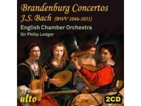 ENGLISH CHAMBER ORCHESTRA / SIR PHILIP LEDGER - J.S. Bach: Brandenburg Concertos Bwv 1046-51 (CD)