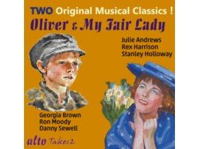 ORIGINAL LONDON & BROADWAY CAST / LERNER / LOEWE / BART - My Fair Lady & Oliver (CD)
