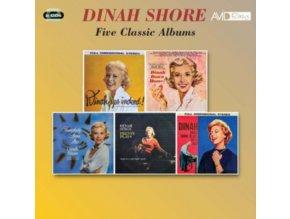 DINAH SHORE - Five Classic Albums (CD)
