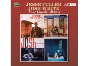 JESSE FULLER & JOSH WHITE - Four Classic Albums (CD)