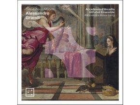 ACCADEMIA DARCADIA / UTFASOL ENSEMBLE / ALLESANDRA ROSSI LURIG - Alessandro Grandi: Celesti Fiori - Motetti (CD)