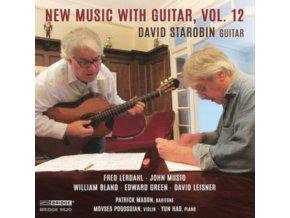 DAVID STAROBIN - New Music With Guitar. Vol. 12 (CD)