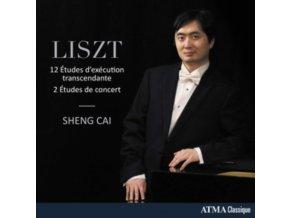 SHENG CAI - Liszt: Etudes DExecution Transcendante (CD)