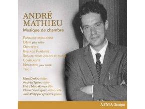 JEAN-PHILIPPE SYLVESTRE / CHLOE DOMINGUEZ & MARC DJOKIC - Mathieu: Musique De Chambre (CD)