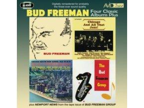 BUD FREEMAN - Four Classic Albums Plus (CD)
