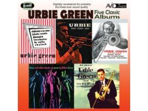 URBIE GREEN - Five Classic Albums (CD)