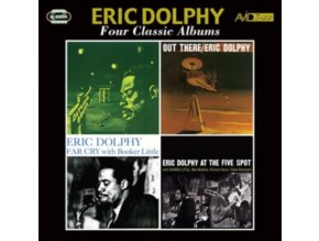 ERIC DOLPHY - Four Classic Albums (CD)