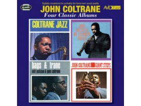 JOHN COLTRANE - Four Classic Albums (CD)