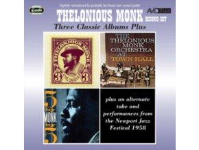 THELONIOUS MONK - Three Classic Albums Plus (CD)