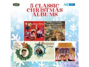 VARIOUS ARTISTS - 5 Classic Christmas Albums (CD)