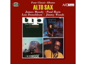 JAMES MOODY / PAUL HORN / LOU DONALDSON / JIMMY WOODS - Four Classic Albums (CD)