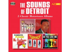 VARIOUS ARTISTS - The Sounds Of Detroit (CD)