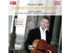 RUMMEL / KOLNER AKADEMIE - Andrea Zani: Complete Cello Concertos (CD)