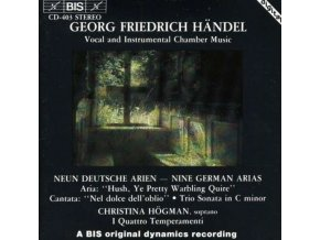 HOGMAN.CHRISTINA - Nine German Arias (I Quattro Temperamenti. Bergman. Hogman) (CD)