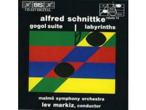 MARKIZ.LEV / MLS - Gogol Suite. Labyrinths (Markiz. Malmo So. Kontra) (CD)