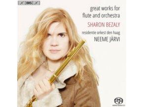 BEZALY / DEN HAAG RO / JARVI - Sharon Bezaly: Great Works For Flute And Orchestra (SACD)