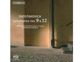 NETHERLANDS RPO / WIGGLESWORTH - Symphonies Nos. 9 And 12 (Wigglesworth) (Sacd / Cd Hybrid) (SACD)