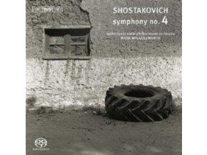 NETHERLANDS RPO / WIGGLESWORTH - Symphony No 4 (SACD)
