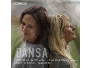 CECILIA ZILLIACUS - Bach / Henryson / Sandstrom: Dansa (SACD)