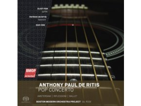 ANTHONY PAUL DE RITIS - Pop Concerto / Amsterdam / Riflessioni / Ballet (SACD)