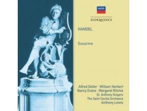 ALFRED DELLER / WILLIAM HERBERT / ST. ANTHONY SINGERS / A LEWIS - Handel: Sosarme (CD)