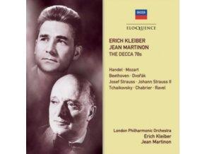 ERICH KLEIBER & JEAN MARTINON - Erich Kleiber. Jean Martinon - The Decca 78S (CD)