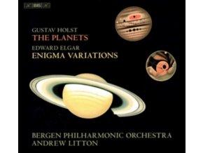 BERGEN PO / LITTON - Gustav Holst: The Planets / Edward Elgar: Enigma Variations (SACD)
