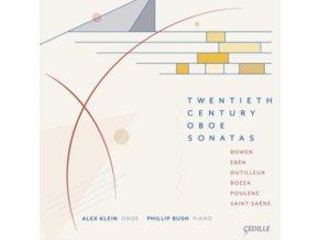 KLEIN / BUSH - Twentieth Century Oboe Sonatas (CD)