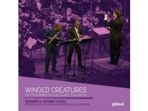 MCGILL / CHICAGO YSO / TINKHAM - Winged Creatures And Other Works For Flute. Clarinet. And Orchestra (CD)