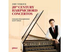 VINIKOUR / CHICAGO / SPECK - 20Th Century Harpsichord Concertos (CD)