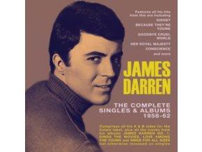 JAMES DARREN - Complete Singles & Albums 1958-62 (CD)