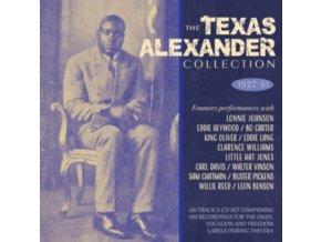 ALGER TEXAS ALEXANDER - The Texas Alexander Collection 1927-51 (CD)
