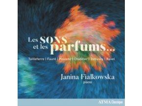 JANINA FIALKOWSKA - Les Sons Et Les Parfums / Sounds And Fragrances (CD)