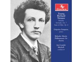 BOHUSLAV MARTINU PHILHARMONIC ORCHESTRA & GRIGORIOS ZAMPARAS - Young Richard Strauss (CD)