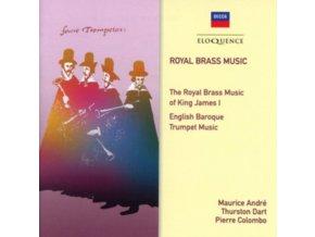 MAURICE ANDRE / THURSTON DART - Royal Brass Music Of King James 1 (CD)