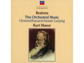 GEWANDHAUSORCHESTER LEIPZIG / KURT MASUR - Kurt Masur - Brahms: Complete Orchestral Music (CD)