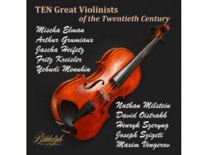 MISCHA ELMAN / ARTHUR GRUMIAUX / JASCHA HEIFETZ / FRITZ KREISLER / YEHUDI MENUHIN / NATHAN MILSTEIN / DAVID OISTRAKH / JOSEPH SZIGETI / HENRYK SZERYNG / MAXIM VENGEROV - Great Violinists Of The Twentieth Century (CD Box Set)