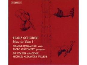 VARIOUS ARTISTS - Franz Schubert: Music For Violin. Vol. I (SACD)