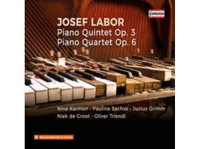 TRIENDL / KARMON / SACHSE / GRIMM - Josef Labor: Piano Quintet Op. 3 / Piano Quartet Op. 6 (CD)