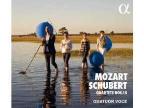 QUATUOR VOCE - W.A. Mozart / Schubert: Quartets Nos.15 (CD)