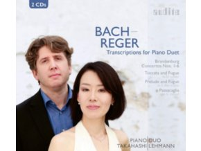 TAKAHASHI / LEHMANN - Bach/Reger: Transcriptions For Piano (CD)