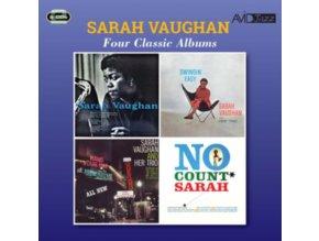 SARAH VAUGHAN - Four Classic Albums (CD)